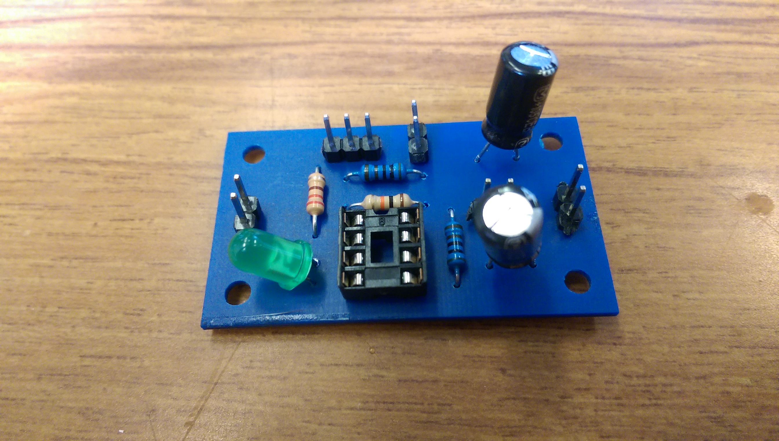 First Try: ATtiny85 8-bit AVR Microcontrollers